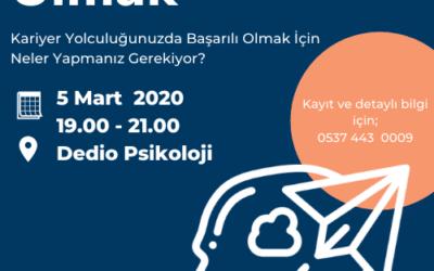 Psikolog Olmak – 5 Mart 2020